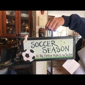 Accessories - Cool soccer sign